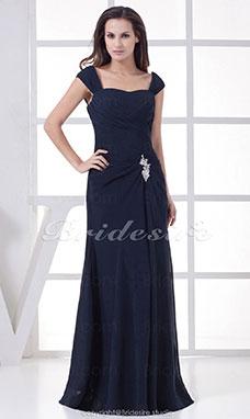 Gala jurk lang blauw
