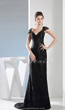 Gala jurk lange mouw